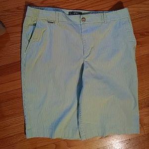 Lauren Ralph Lauren active striped shorts-sz 14